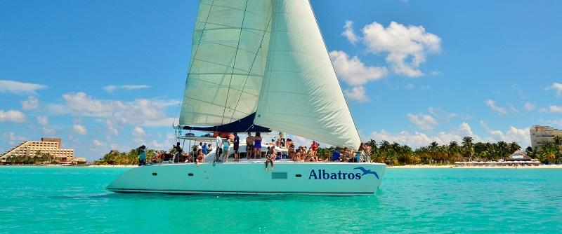 Barco na Isla Mujeres