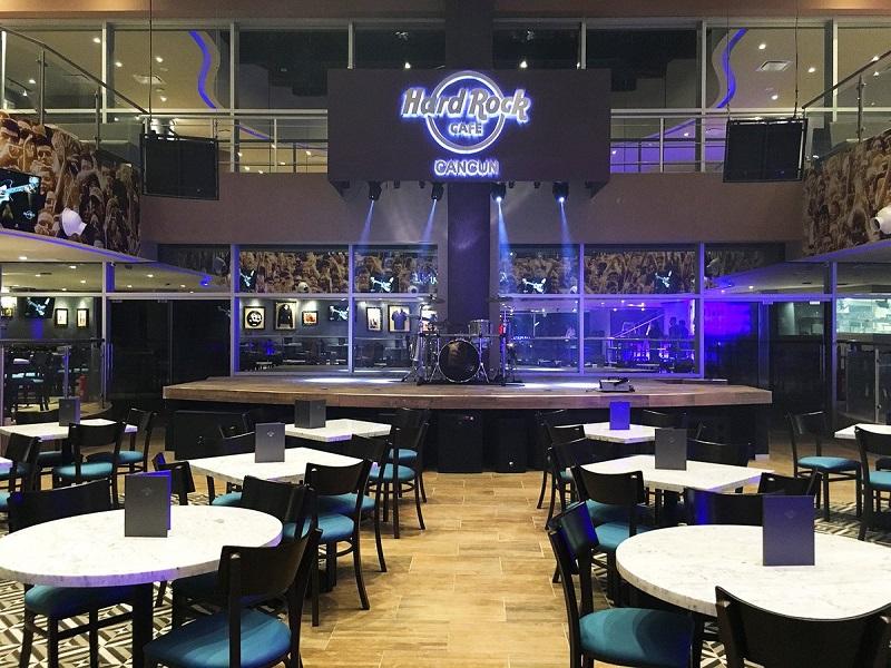 Hard Rock Café em Cancún