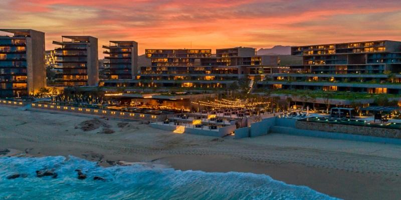 Hotéis na beira da praia em Cancún