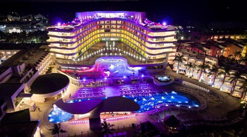 Hotel luxuoso de Cancún
