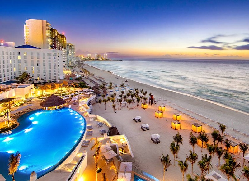 Hotel Le Blanc Spa Resort All-Inclusive em Cancún