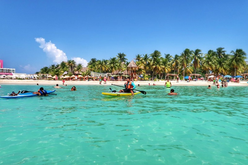 Playa Norte na Isla Mujeres