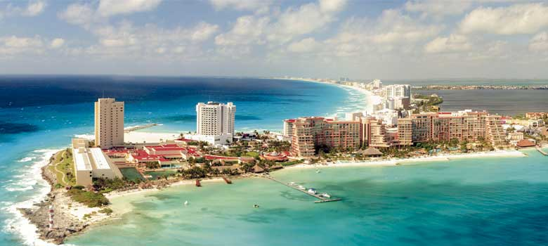 Playa Punta Cancun em Cancún