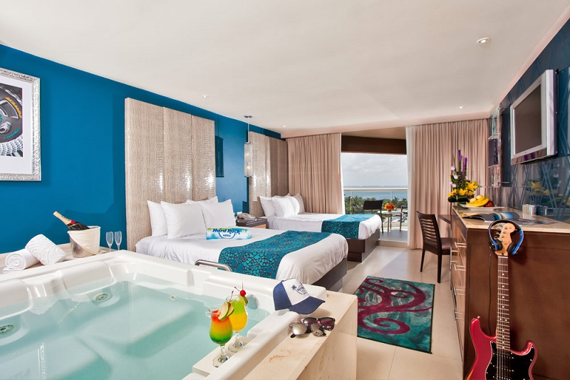 Quarto do Hard Rock Hotel em Cancún