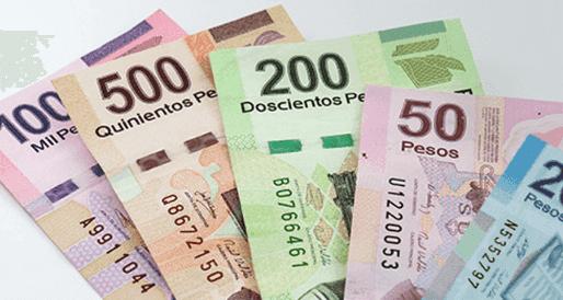 Pesos mexicanos para usar em Cancún