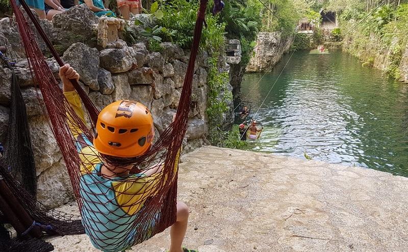 Aventura no Xcaret Park em Cancún