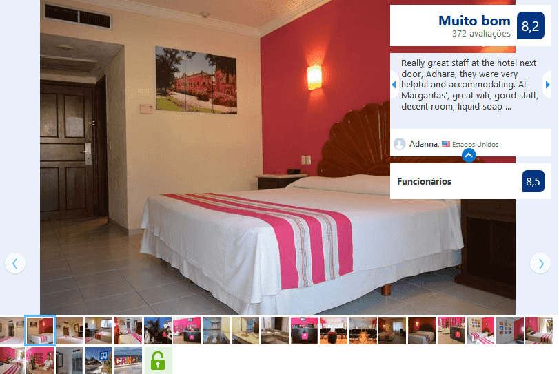 Hotel Margaritas para ficar em Cancún
