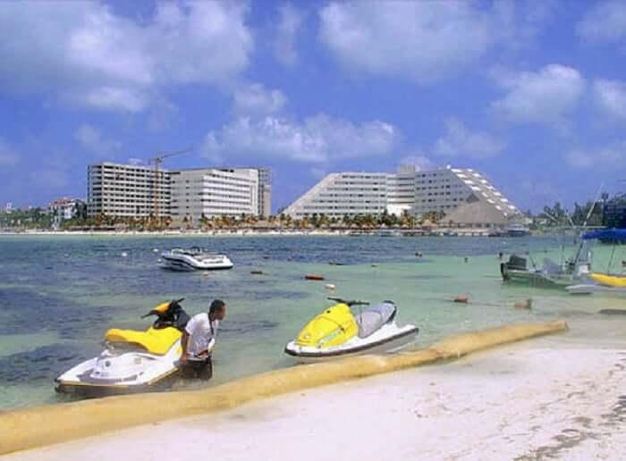 Playa Linda para casais apaixonados em Cancún