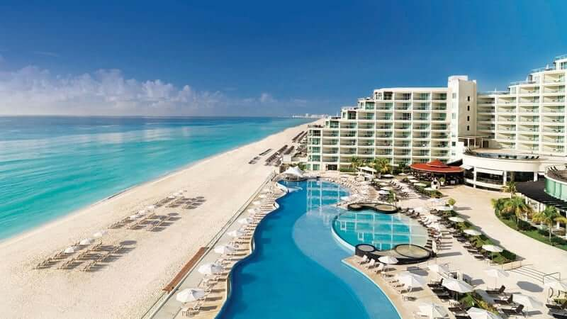 Hotéis all-inclusive para os casais apaixonados em Cancún