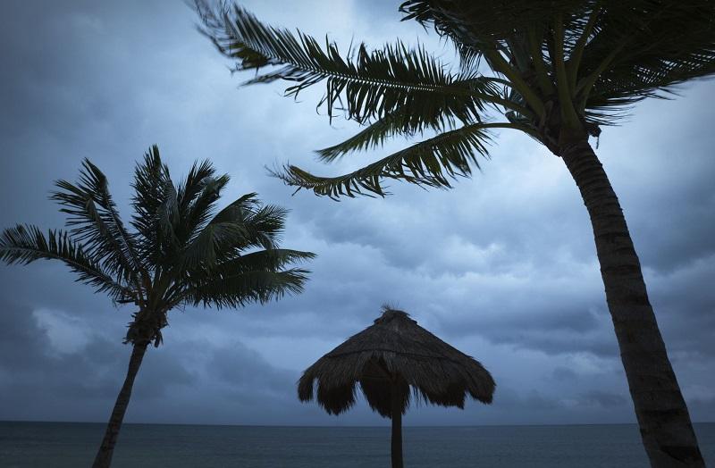 Temporada de furacões em Cancún