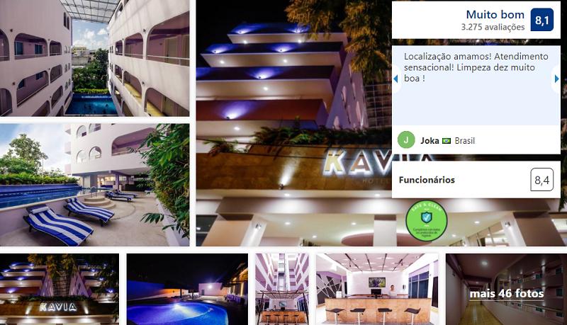 Hotel Kavia em Cancún