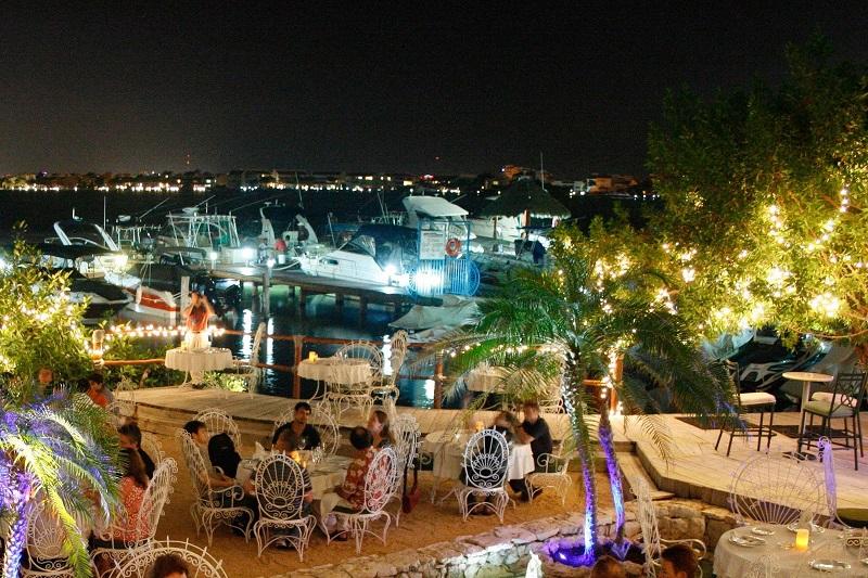 Jantar no La Habichuela Sunset em Cancún