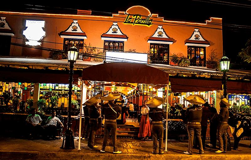 Restaurante La Parrilla em Cancún