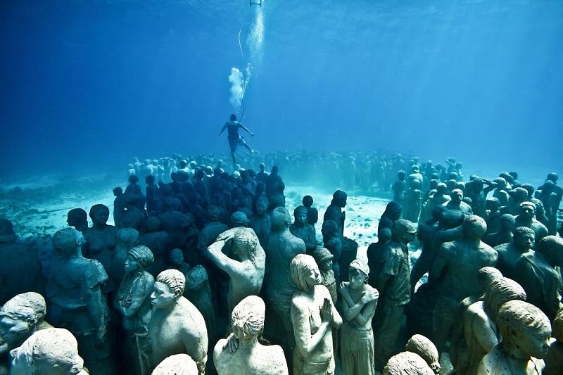 Museu Subaquático de Arte - Cancún