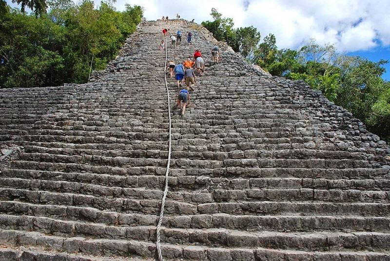 Pirâmide de Cobá - Cancún