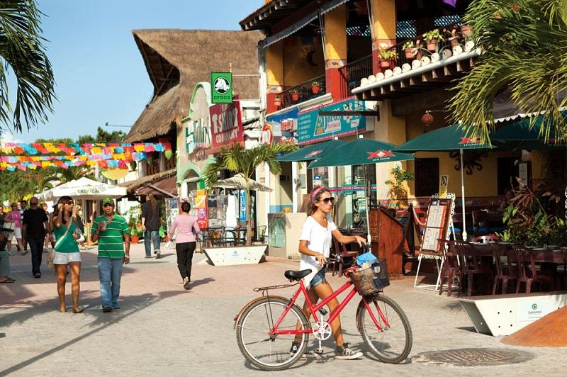 Quinta Avenida na Playa del Carmen