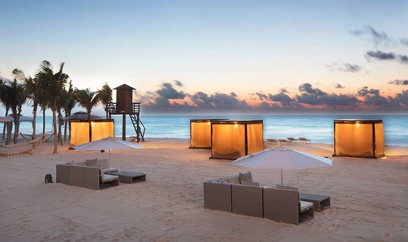 Romantismo no Le Blanc SPA Resort All Inclusive em Cancún