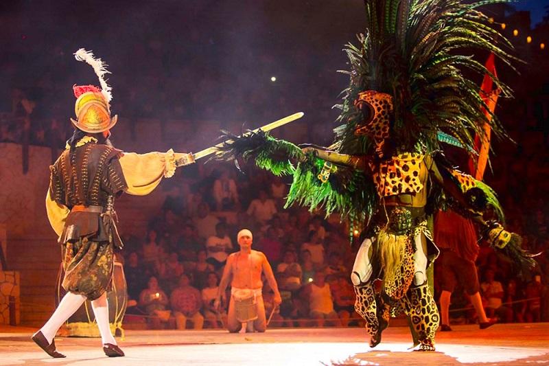 Show no Xcaret Park em Cancún