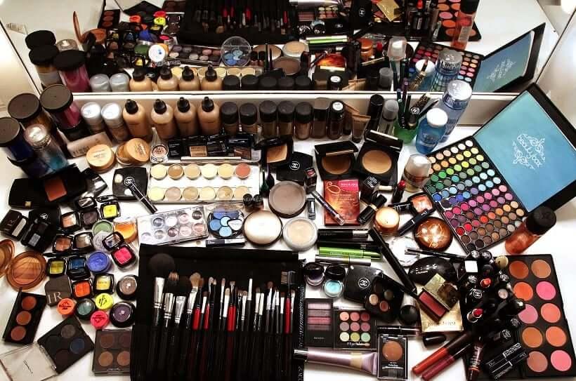 Compras de maquiagens em Cancún