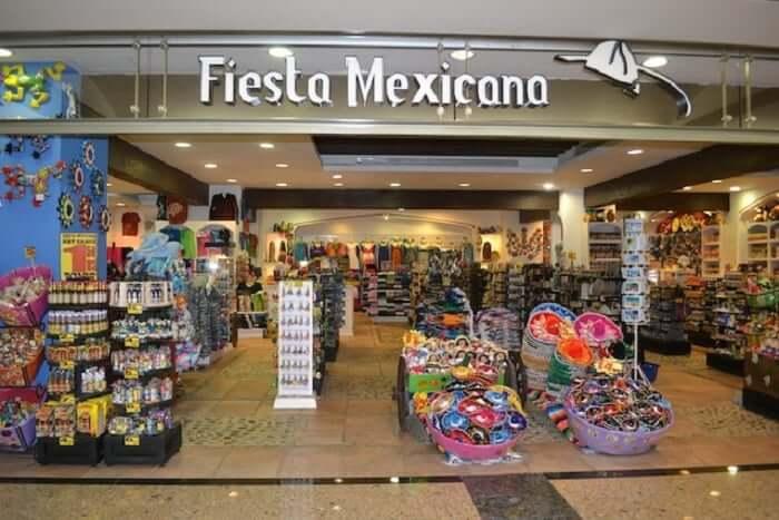 Loja Fiesta Mexicana em Cancún