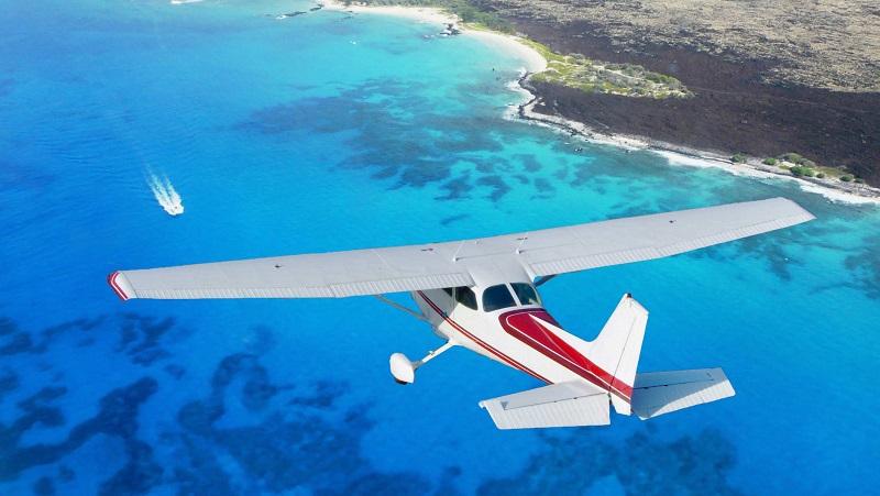 Avião na Ilha de Cozumel