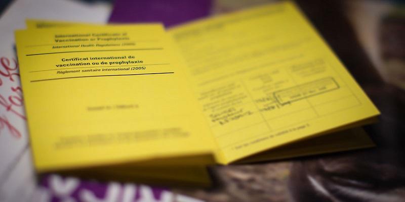 Certificado Internacional de Vacinação para entrar no México