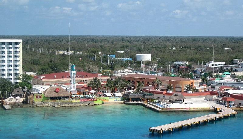 Ilha de Cozumel no México
