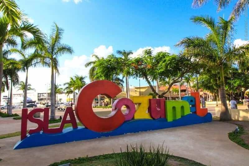Isla Cozumel no México