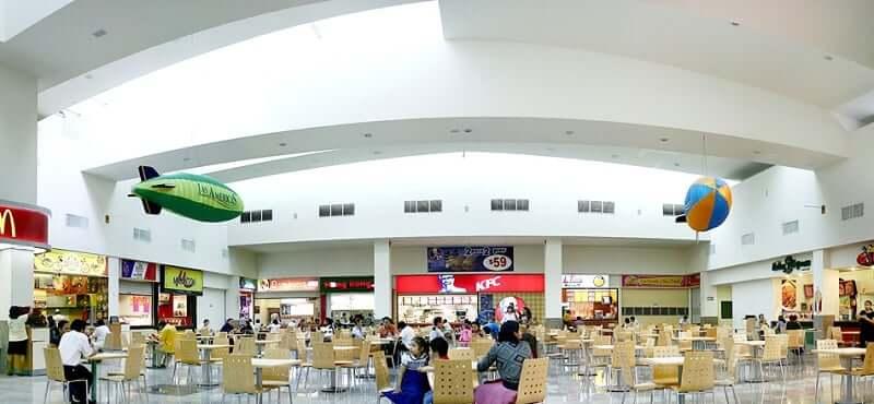 Restaurantes no Shopping Las Americas em Cancún