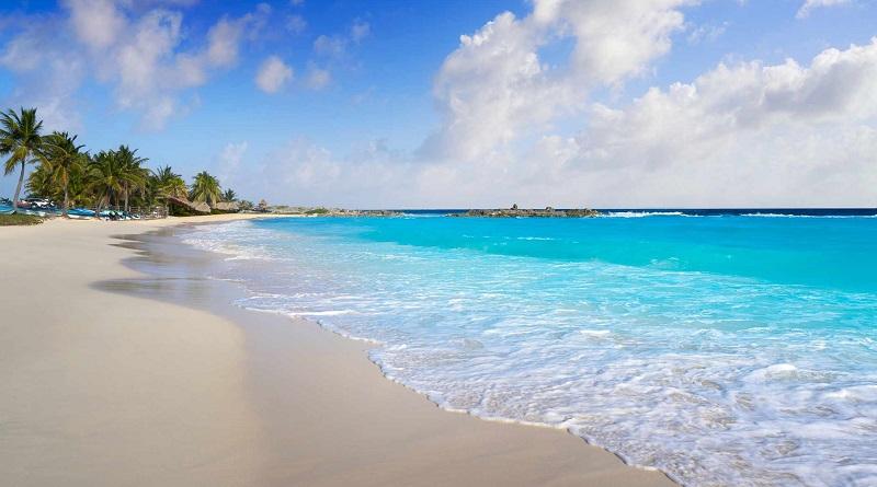 Praia na Ilha de Cozumel