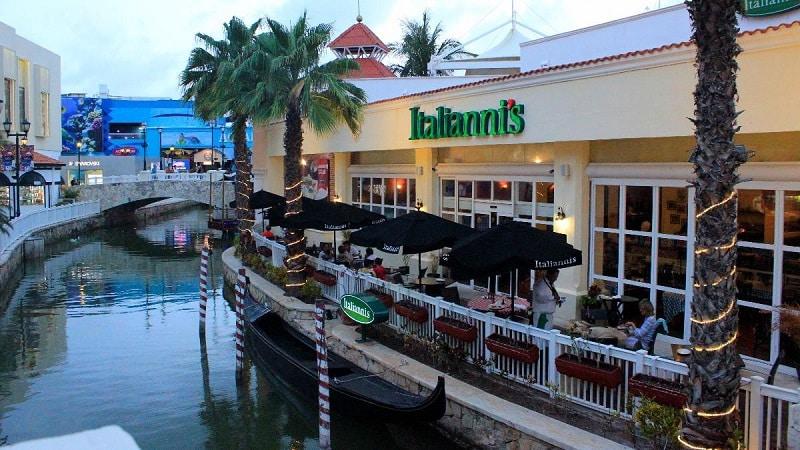 Restaurantes - Shopping Plaza La Isla Cancún