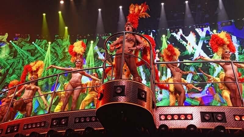 Show no Coco Bongo em Cancún