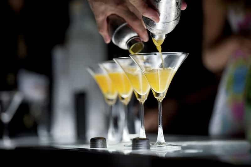 Drinks em balada de Cancún