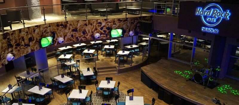 Hard Rock Cafe no Forum By The Sea em Cancún