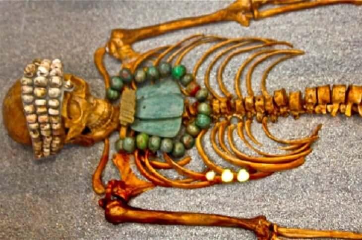 Acervo do Museu Maya em Cancún