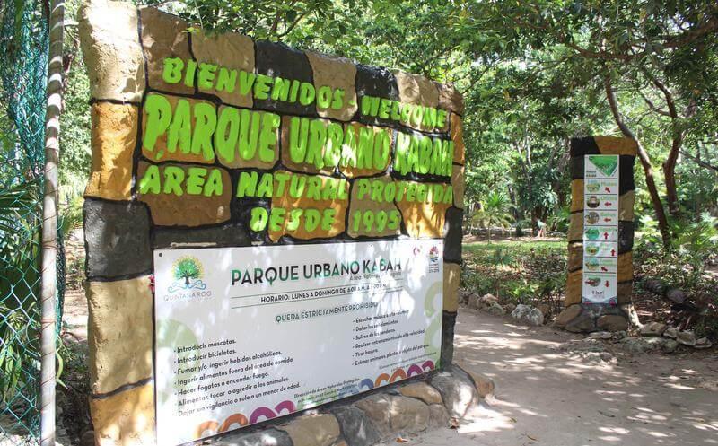 Como chegar no Urbano Kabah Park em Cancún