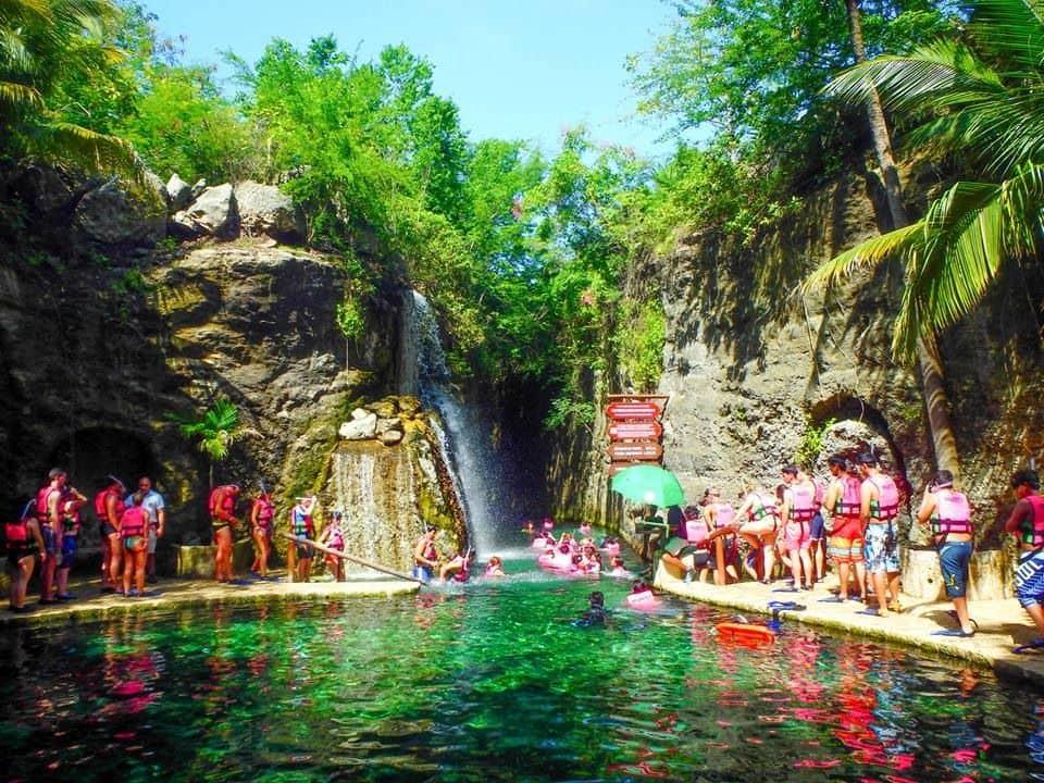 Principais atrações do Parque Xcaret em Cancún: Paradise River