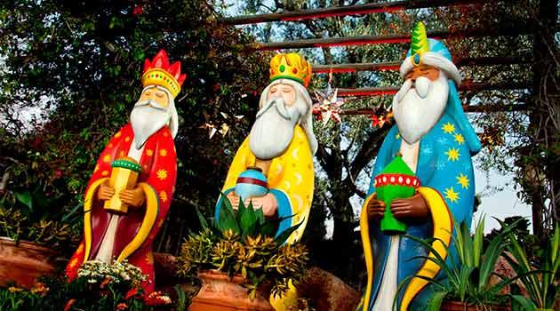 Dia dos Reis em Cancún e no México