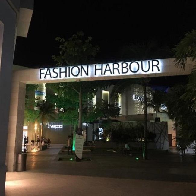 Shopping Fashion Harbour em Cancún