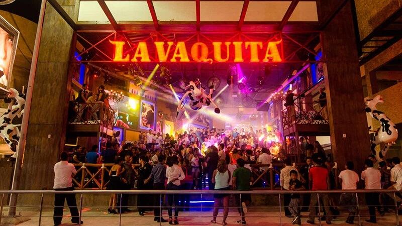 Bar e balada La Vaquita em Cancún