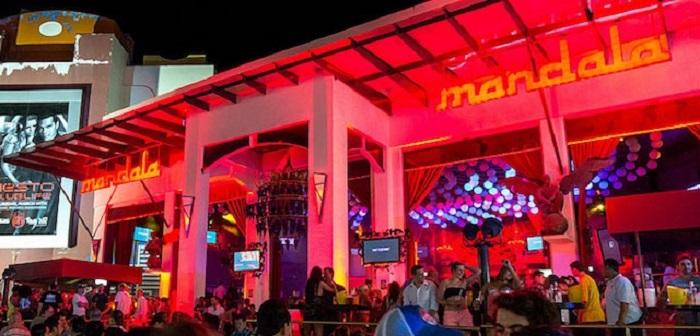 Diversão no bar e balada Mandala em Cancún