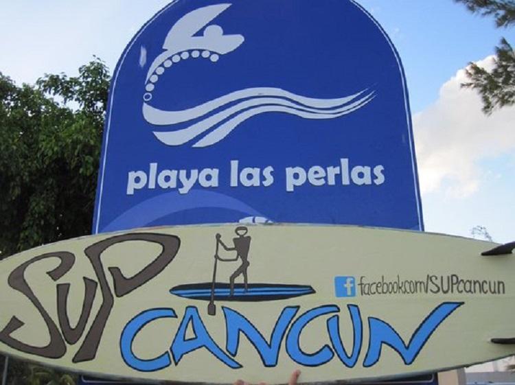 Praia pública Playa Las Perlas em Cancún