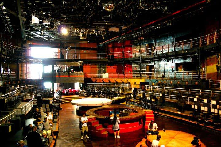 Estrutura da balada The City Nightclub em Cancún