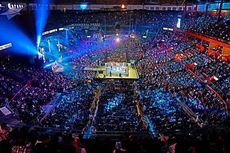 O que fazer a noite na Cidade do México: espetáculo de luta livre