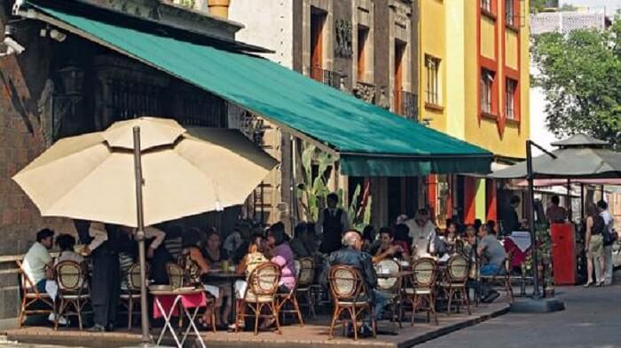 Bairro Centro na Cidade do México