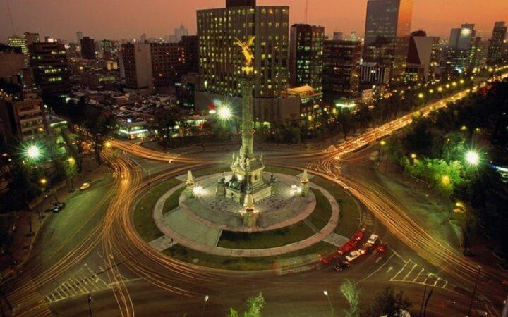 Bairro Polanco na Cidade do México