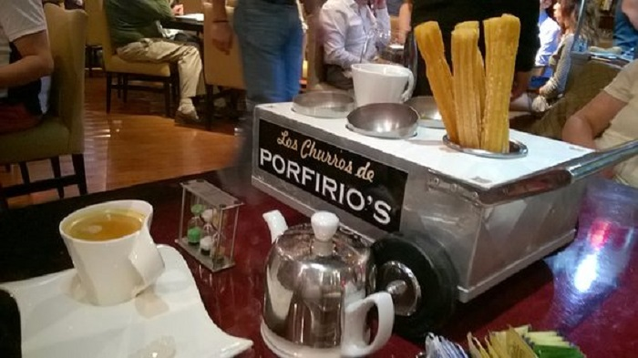 Restaurante Porfirio's na Cidade do México