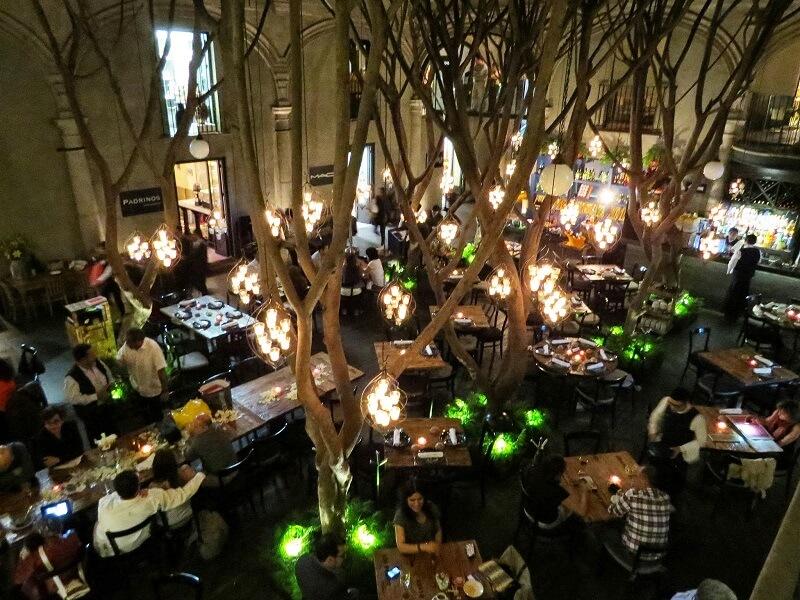 O que fazer a noite na Cidade do México: Restaurantes