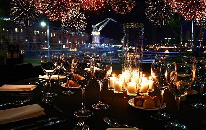 Restaurantes no Ano Novo na Cidade do México