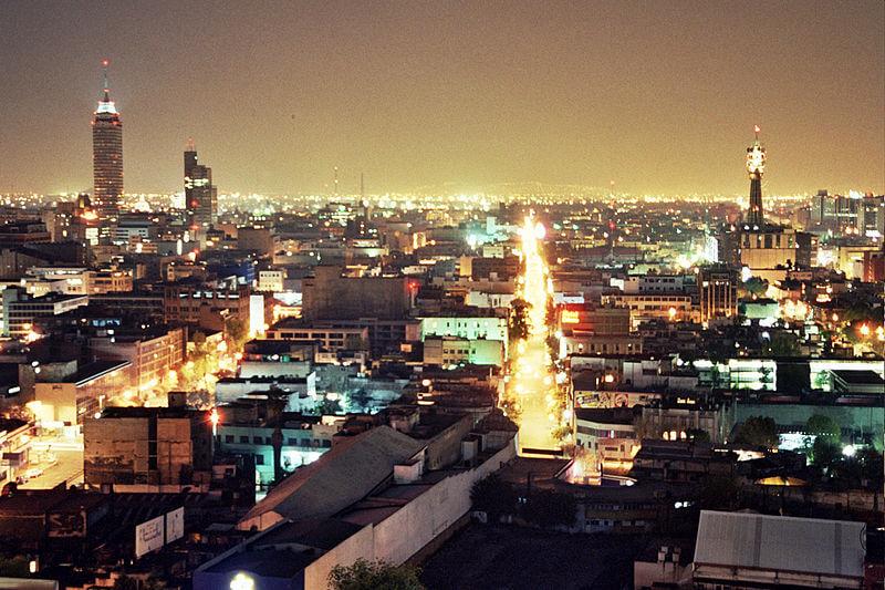 Região de bares e baladas da Cidade do México